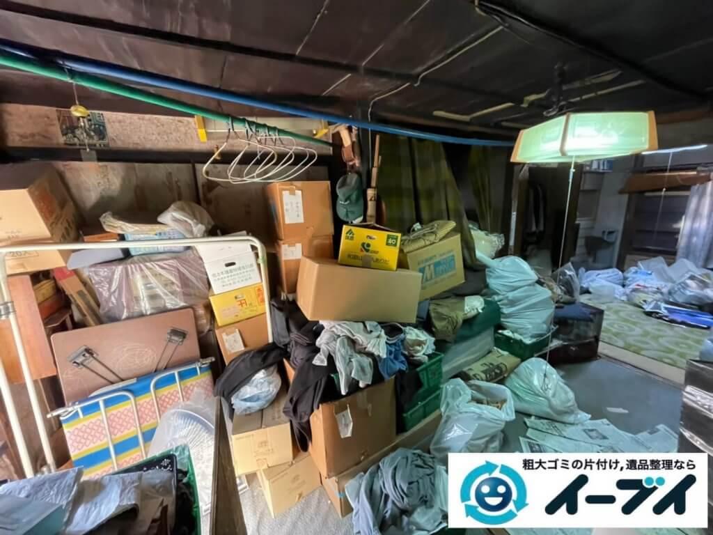 2021年4月18日大阪府堺市西区でゴミ屋敷化した汚部屋の片付け作業です。写真7