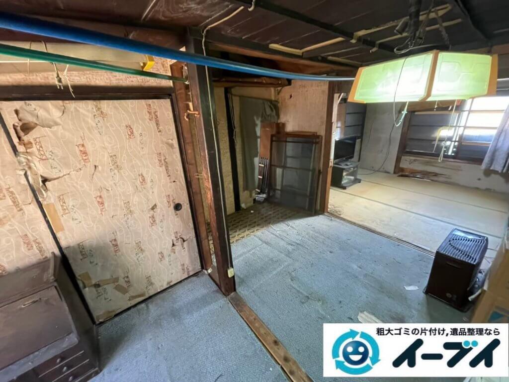 2021年4月18日大阪府堺市西区でゴミ屋敷化した汚部屋の片付け作業です。写真6