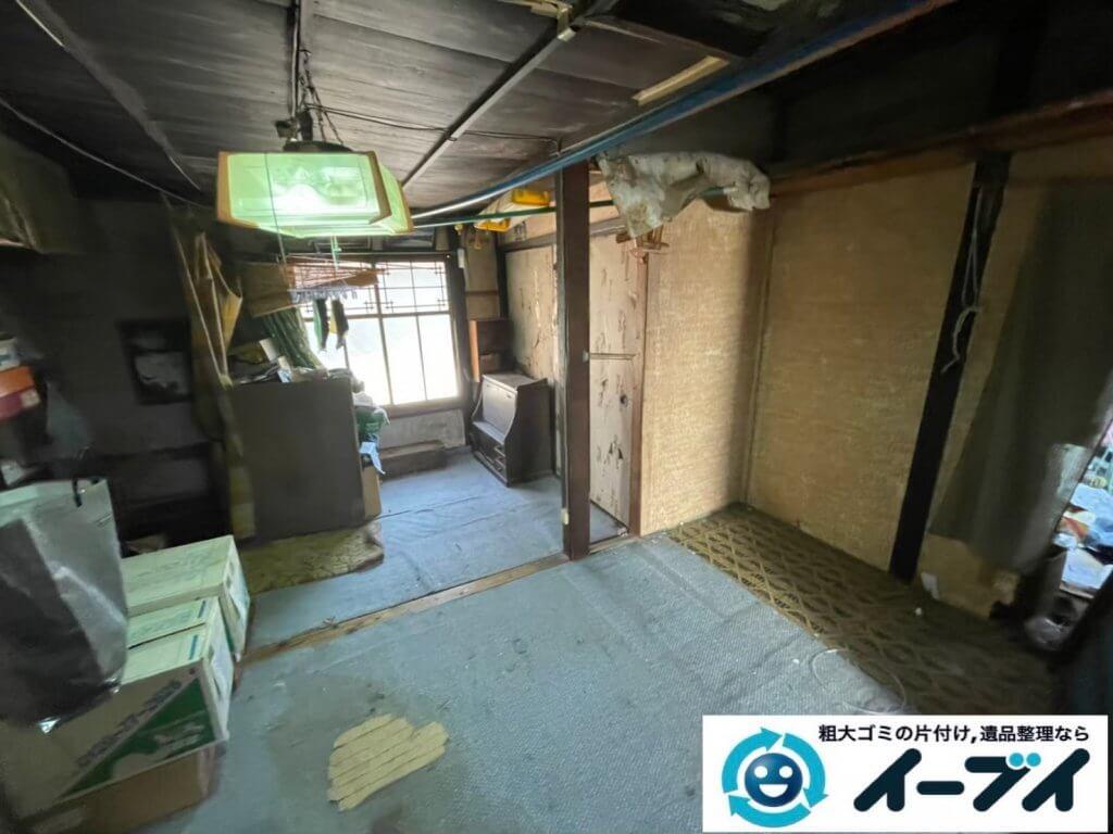 2021年4月18日大阪府堺市西区でゴミ屋敷化した汚部屋の片付け作業です。写真4