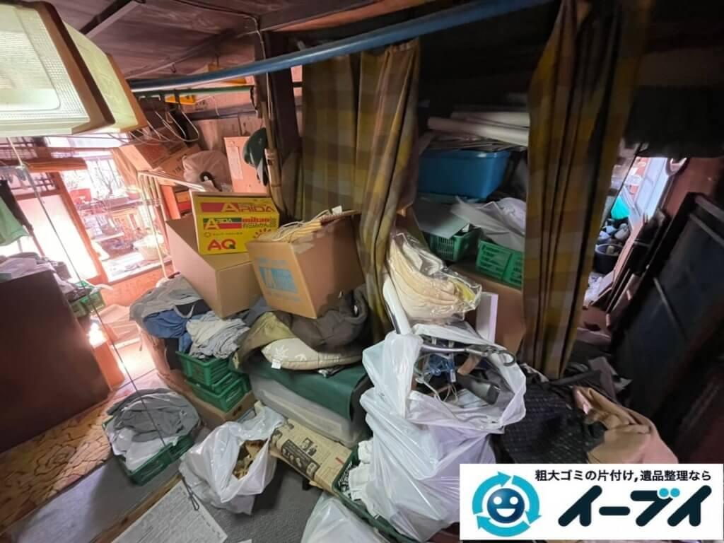 2021年4月18日大阪府堺市西区でゴミ屋敷化した汚部屋の片付け作業です。写真3