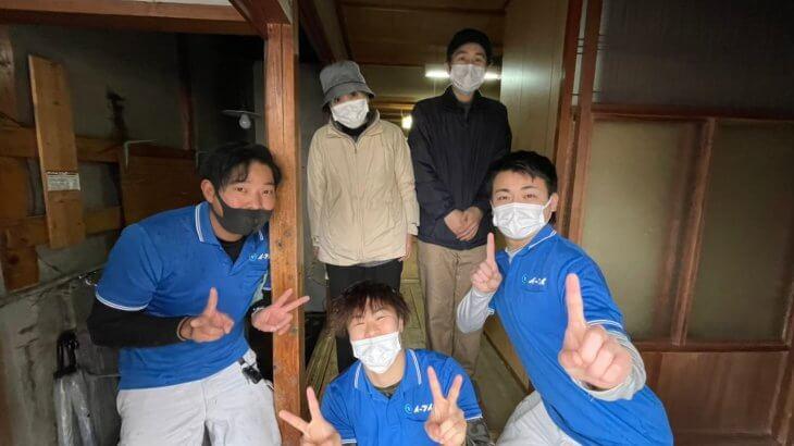 2021年4月21日大阪府高槻市で遺品整理の仕分け作業や家具の遺品処分をしました。