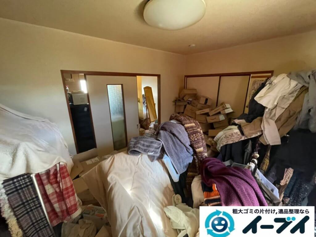 2020年5月7日大阪府堺市美原区で退去に伴い、お家の家財道具を一式処分させていただきました。写真3