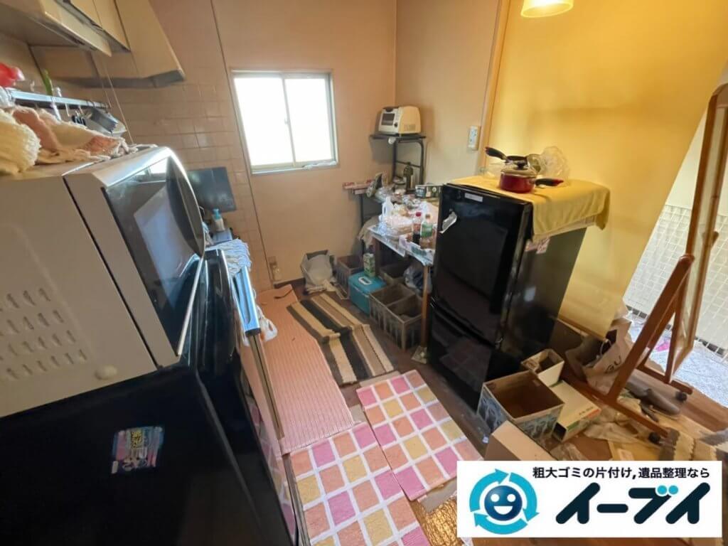 2020年5月7日大阪府堺市美原区で退去に伴い、お家の家財道具を一式処分させていただきました。写真6