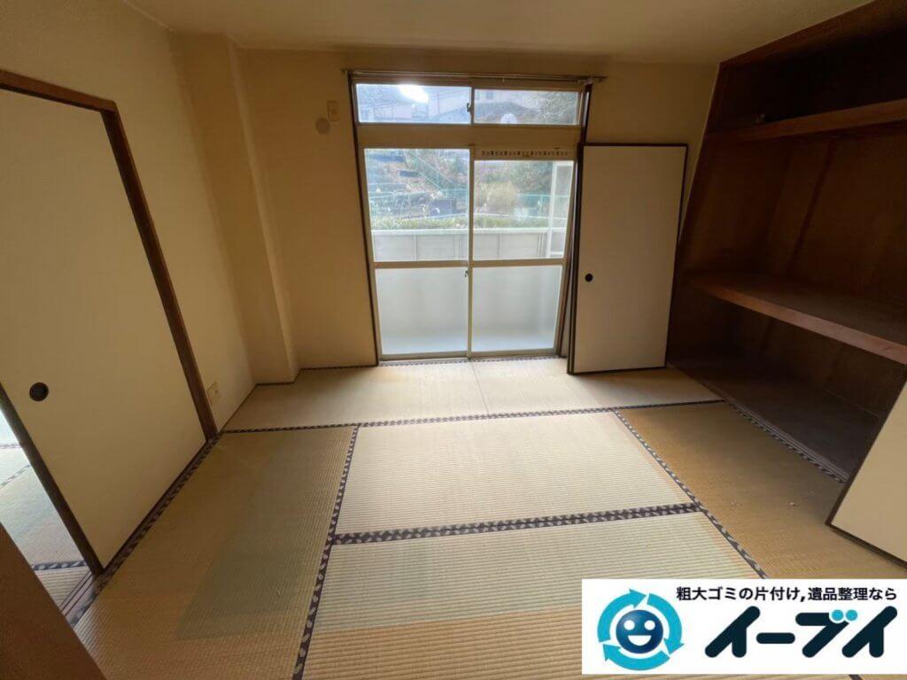 2020年5月7日大阪府堺市美原区で退去に伴い、お家の家財道具を一式処分させていただきました。写真4
