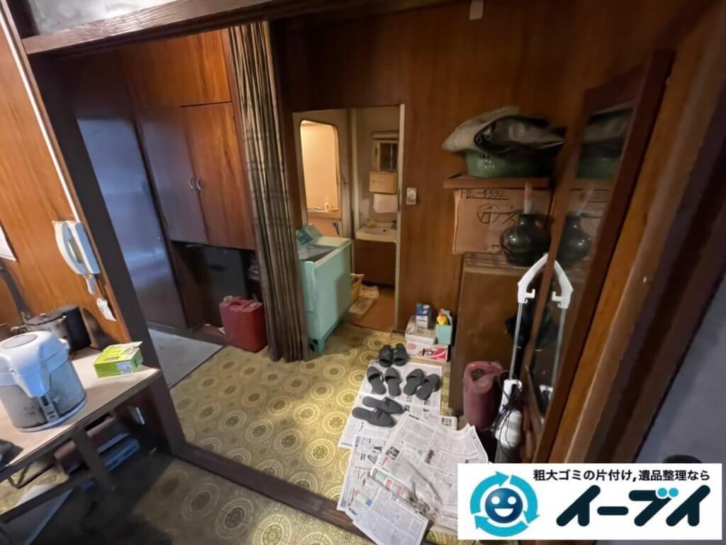 2021年5月22日大阪府大阪市住之江区で退去に伴い、お家の家財道具を一式処分させていただきました。写真8