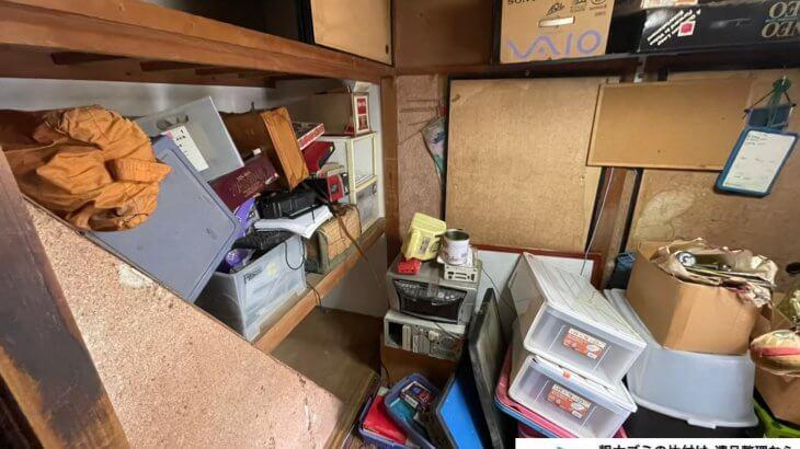 2021年5月10日大阪府堺市西区で箪笥の婚礼家具などの不用品回収。写真3
