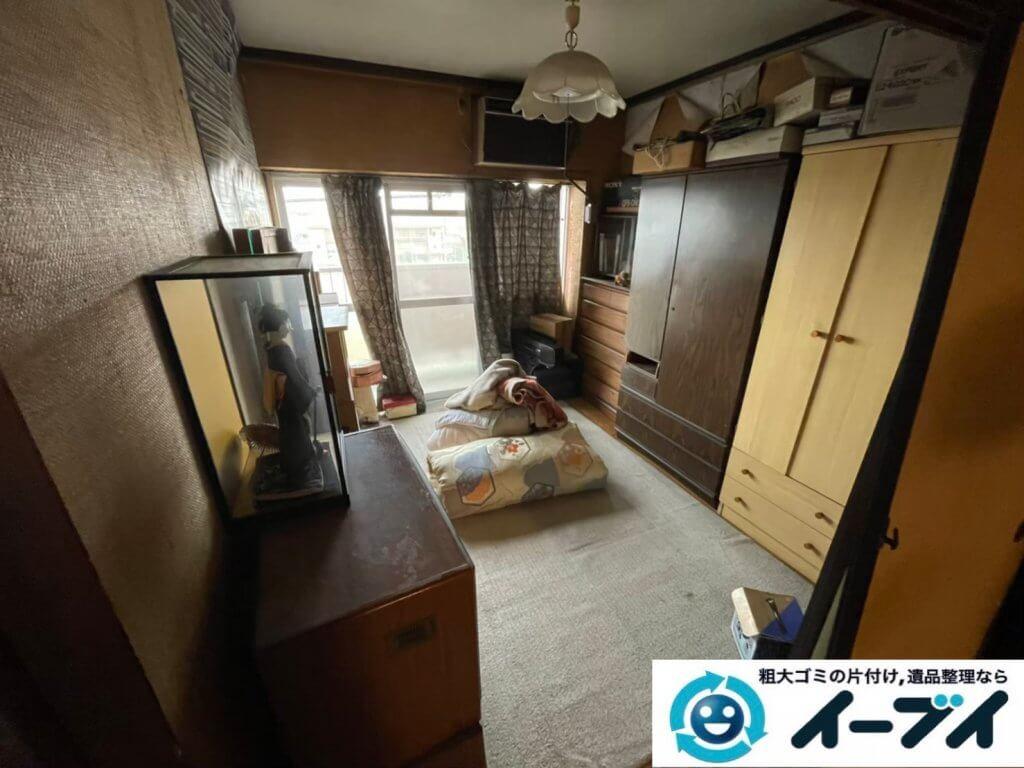 2021年5月19日大阪府大東市で施設に移動されるため、お家の家財道具を一式処分させていただきました。写真2