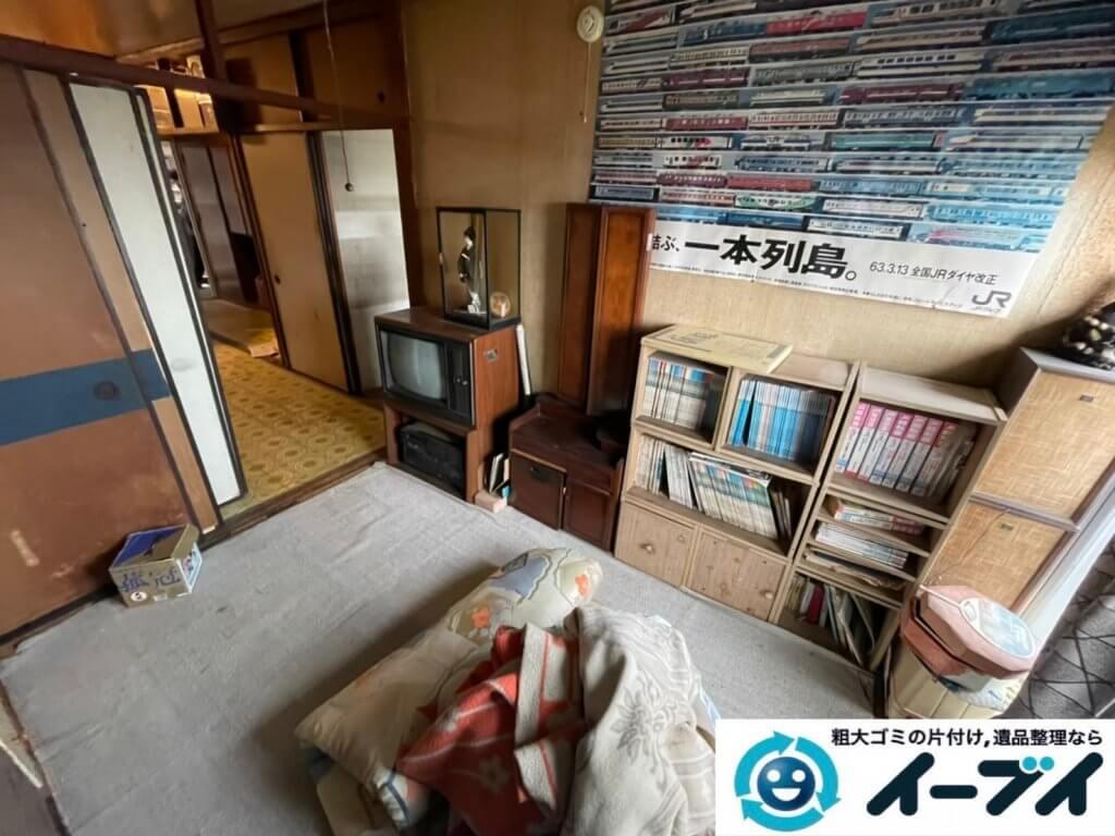2021年6月18日大阪府大阪市城東区で箪笥や本棚の大型家具の不用品回収。写真6