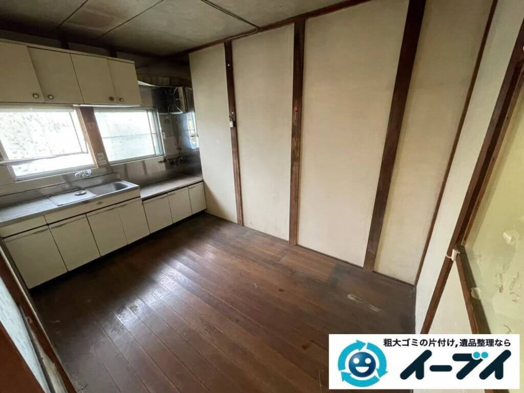 2021年6月6日大阪府大阪市中央区でお家の残置物の不用品回収。写真8
