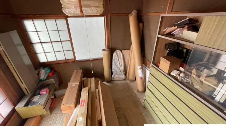 2021年6月6日大阪府大阪市中央区でお家の残置物の不用品回収。写真7