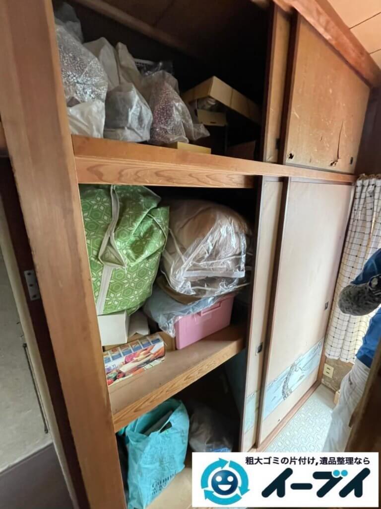 2021年6月6日大阪府大阪市中央区でお家の残置物の不用品回収。写真5