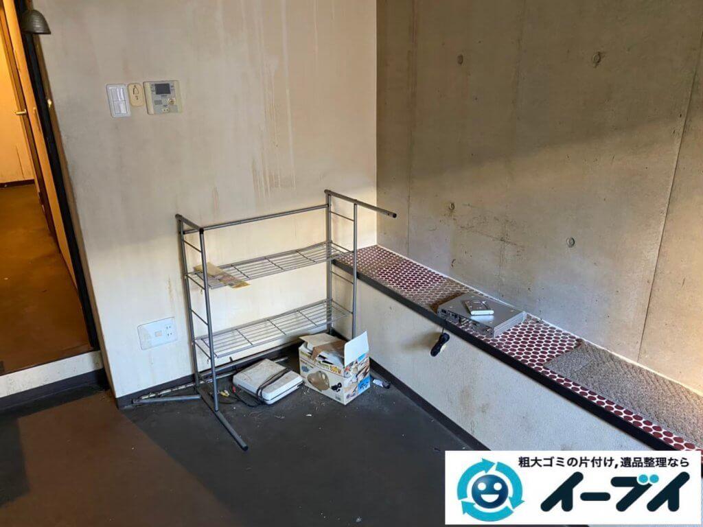 2021年6月15日大阪府大阪市北区で台所の片付けに伴い、冷蔵庫などの不用品回収。写真6