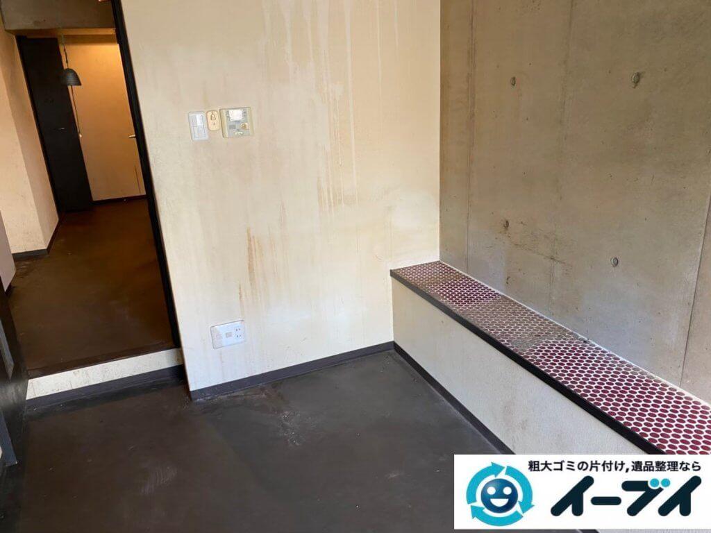 2021年6月15日大阪府大阪市北区で台所の片付けに伴い、冷蔵庫などの不用品回収。写真5