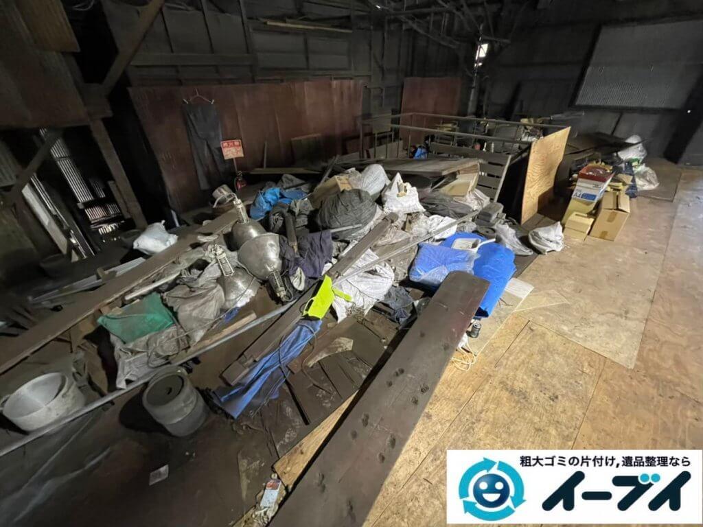 2021年6月28日大阪府大阪市平野区で倉庫の不用品回収写真6