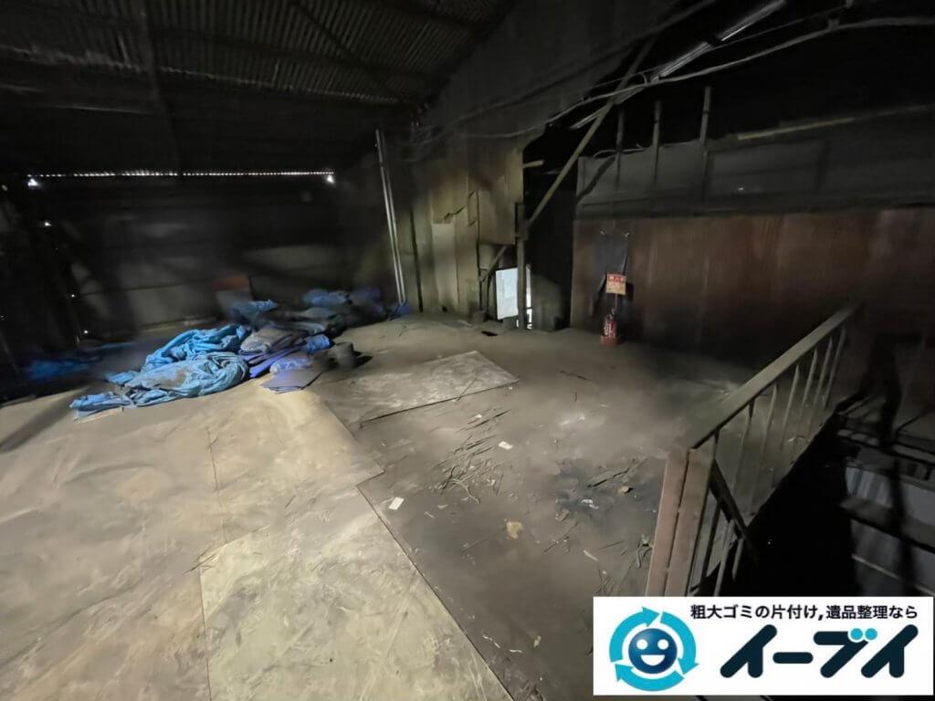 2021年6月28日大阪府大阪市平野区で倉庫の不用品回収写真5