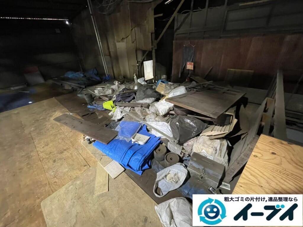 2021年6月28日大阪府大阪市平野区で倉庫の不用品回収写真4