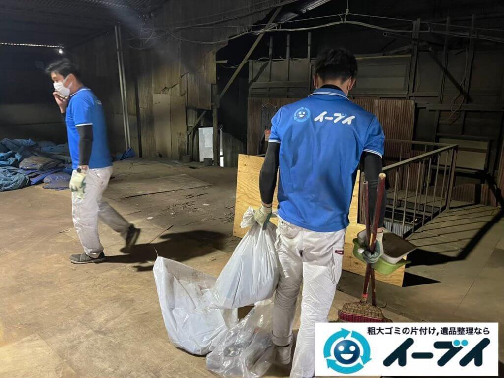 2021年6月28日大阪府大阪市平野区で倉庫の不用品回収写真3