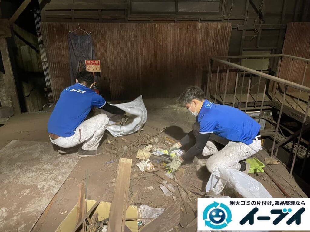 2021年6月28日大阪府大阪市平野区で倉庫の不用品回収写真2