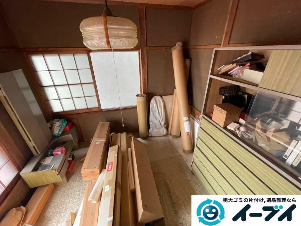 2021年8月10日大阪府大阪市港区で退去に伴い、お家の家財道具を一式処分させていただきました。写真6