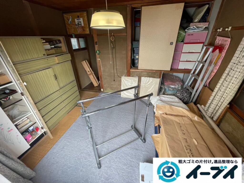 2021年8月10日大阪府大阪市港区で退去に伴い、お家の家財道具を一式処分させていただきました。写真2