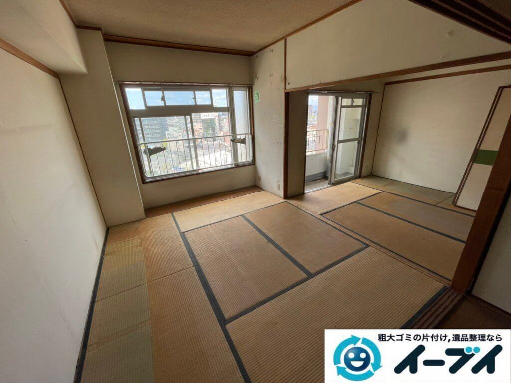 2021年8月13日大阪府大阪市福島区でタンスやベッドの大型家具の不用品回収。写真6