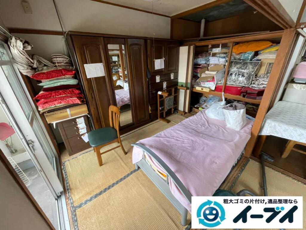 2021年8月13日大阪府大阪市福島区でタンスやベッドの大型家具の不用品回収。写真5
