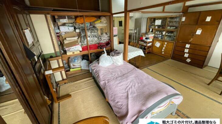 2021年8月13日大阪府大阪市福島区でタンスやベッドの大型家具の不用品回収。写真3