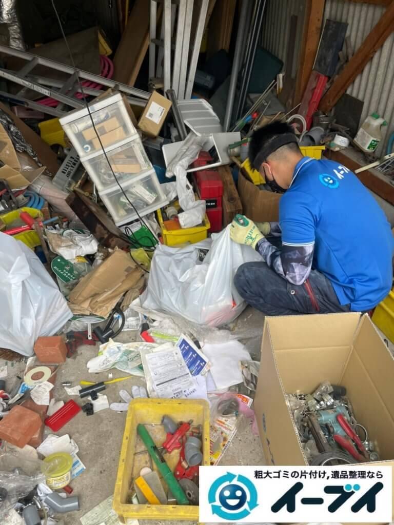 2021年9月2日大阪府大阪市生野区で倉庫の不用品回収をさせていただきました。写真8