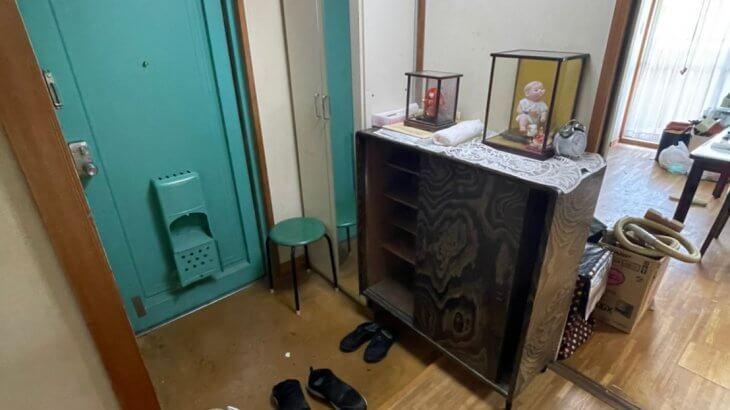 2021年9月5日大阪府大阪市西区で退去に伴い、お家の家財道具を一式処分させていただきました。写真2