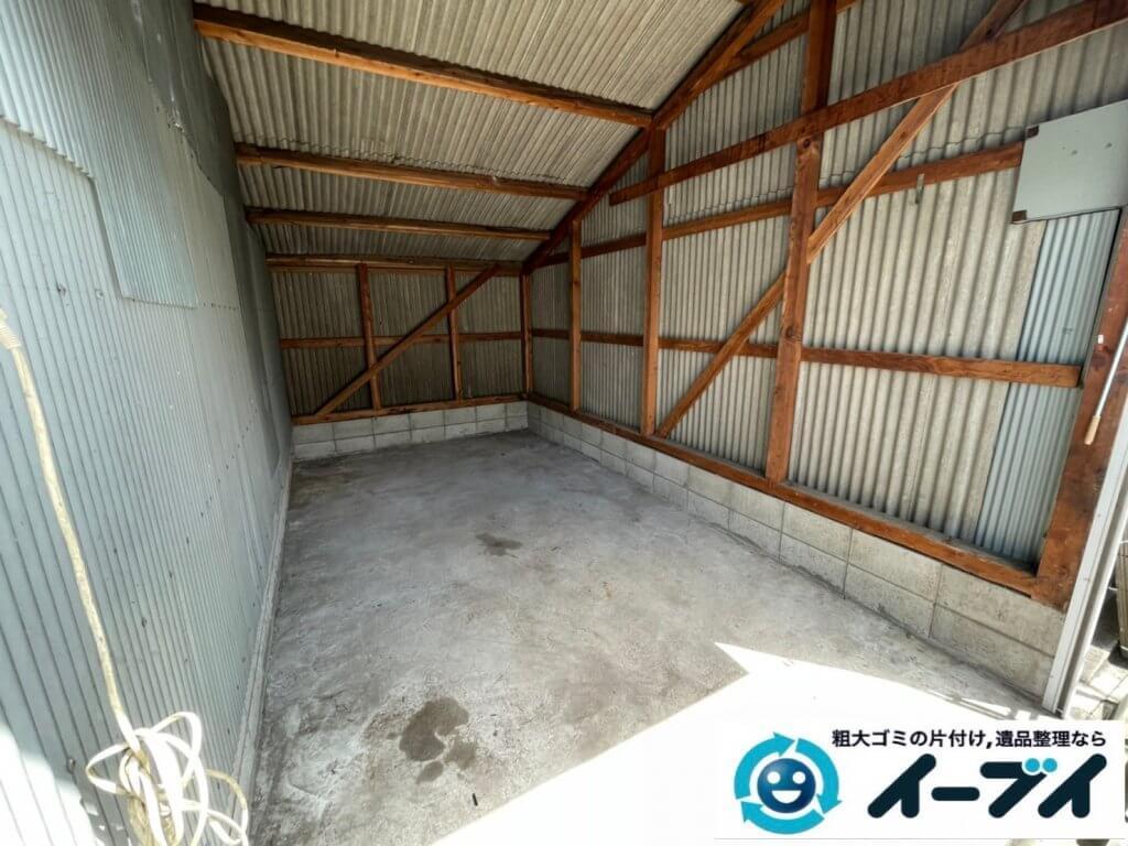 2021年9月2日大阪府大阪市生野区で倉庫の不用品回収をさせていただきました。写真6