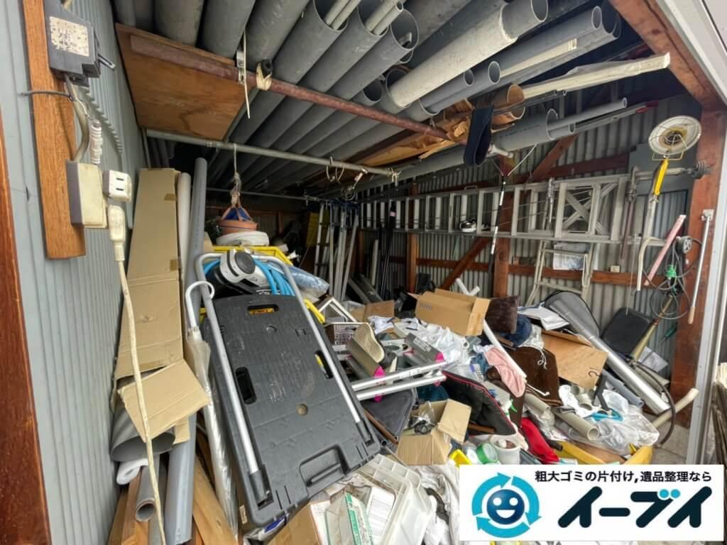 2021年9月2日大阪府大阪市生野区で倉庫の不用品回収をさせていただきました。写真4