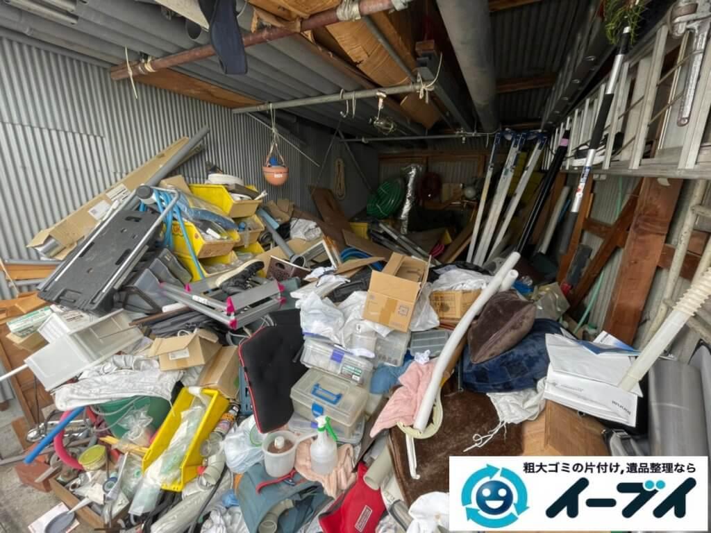 2021年9月2日大阪府大阪市生野区で倉庫の不用品回収をさせていただきました。写真3