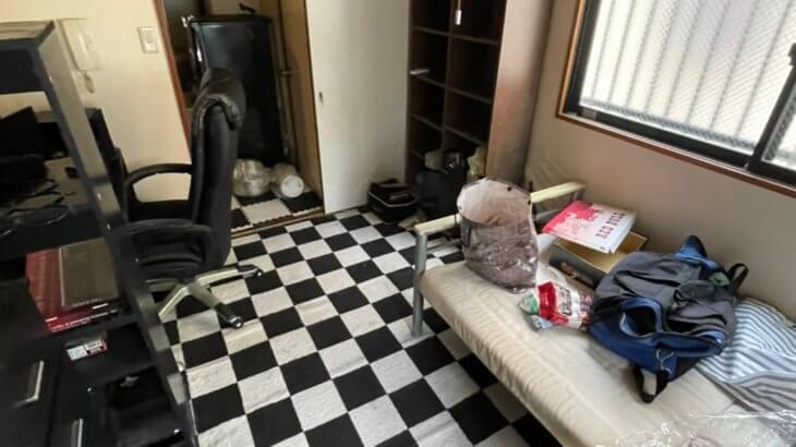 2021年9月29日大阪府大阪市阿倍野区でマンションの一室を不用品回収させていただきました。写真1